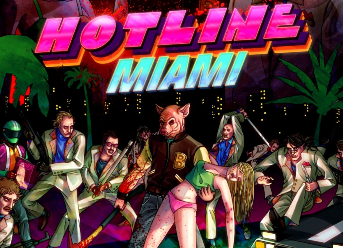 Hotline Miami Hd Logo Wallpapers Moving