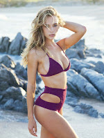 Hannah Ferguson hottest models photoshoot for Tori Praver Bikini Swimwear