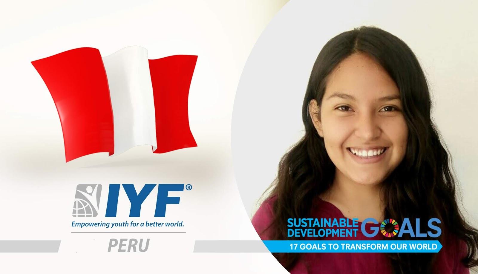 Estefanny Cáceres, IYF Representative in Peru