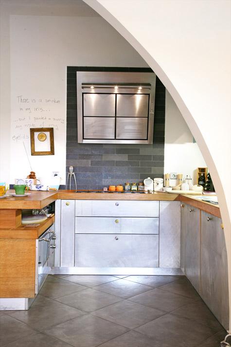 10 Diseños de cocinas sin muebles altos - Kansei Cocinas ...