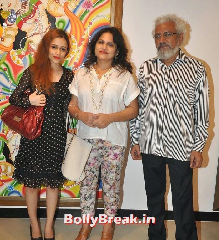 Rutuja Padwal, Anannya Banerji, Prakash Bal, Tia Bajpai, Richa Sony Pics from Exhibition