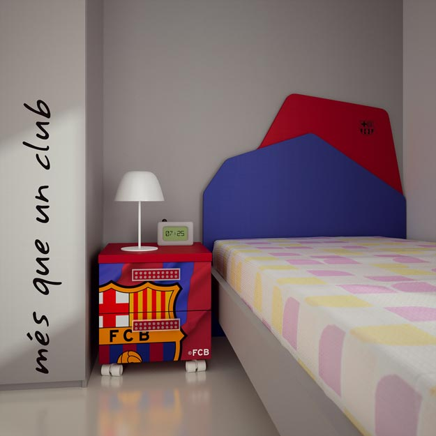 Dormitorios futbol club barcelona fcb by dormitorios - Muebles infantiles barcelona ...