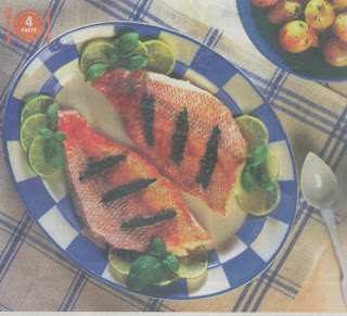 Reţetă peşte cu verdeţuri