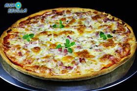 Pizza expres sin reposo Ana Sevilla cocina tradicional