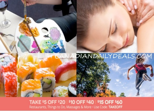 Groupon Up to $15 Off Local Deal Promo Code