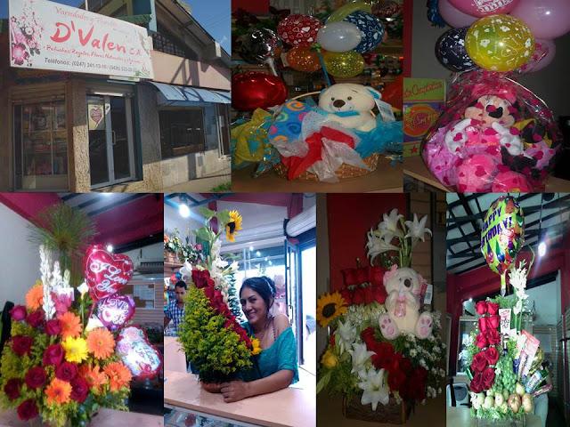 """FOTOS: Variedades y Floristería; """"D´ VALEN"""" frente al semáforo de Casa de Zinc en San Fernando. (FLORISTERIA)"""