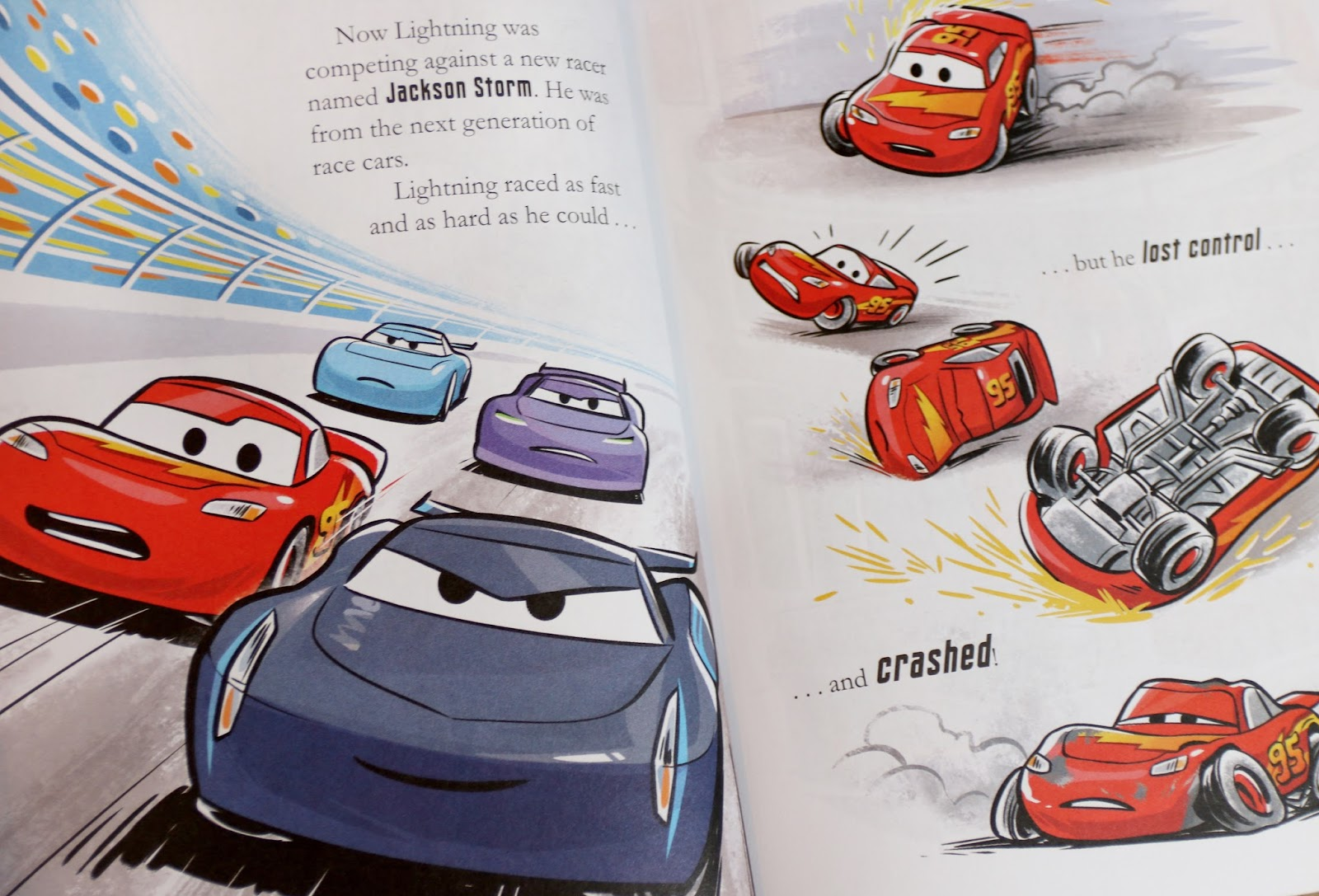 pixar cars 3 little golden book