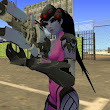 [Rel-GTA SA] Widowmaker + Sniper - Overwatch