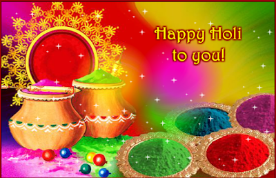 Happy Holi Greetings, Ecards, Messages, Photos