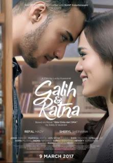 Poster Film Galih dan Ratna (2017)