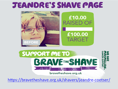 Supporting Jeandre's Brave to Shave