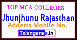 Top MCA Colleges in Jhunjhunu Rajasthan