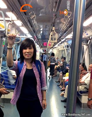 Phương tiện đi lại tốt nhất ở Singapore là: MRT Singapore