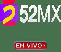 TV 52 mx trasmision vivo cuenta con una programación de contenidos generales.