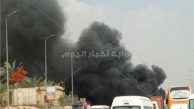 حادث بوابات صحراوي إسكندرية