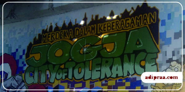 Jogja, City of Tolerance | adipraa.com