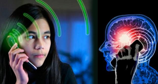 خطر استخدام الهواتف المحمولة على المخ
