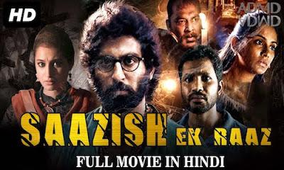 Saazish Ek Raaz 2017 Hindi Dubbed WEBRip 480p 300Mb