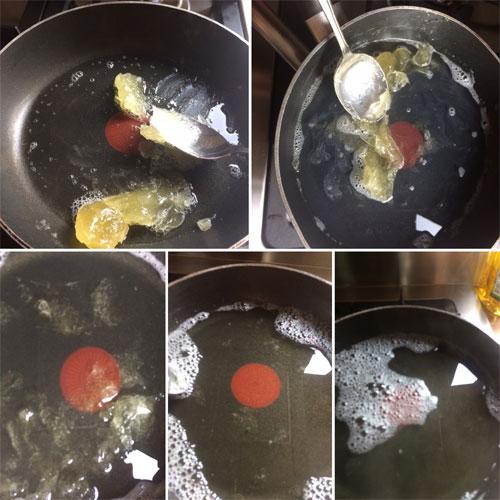 olijfpasta in water oplossen