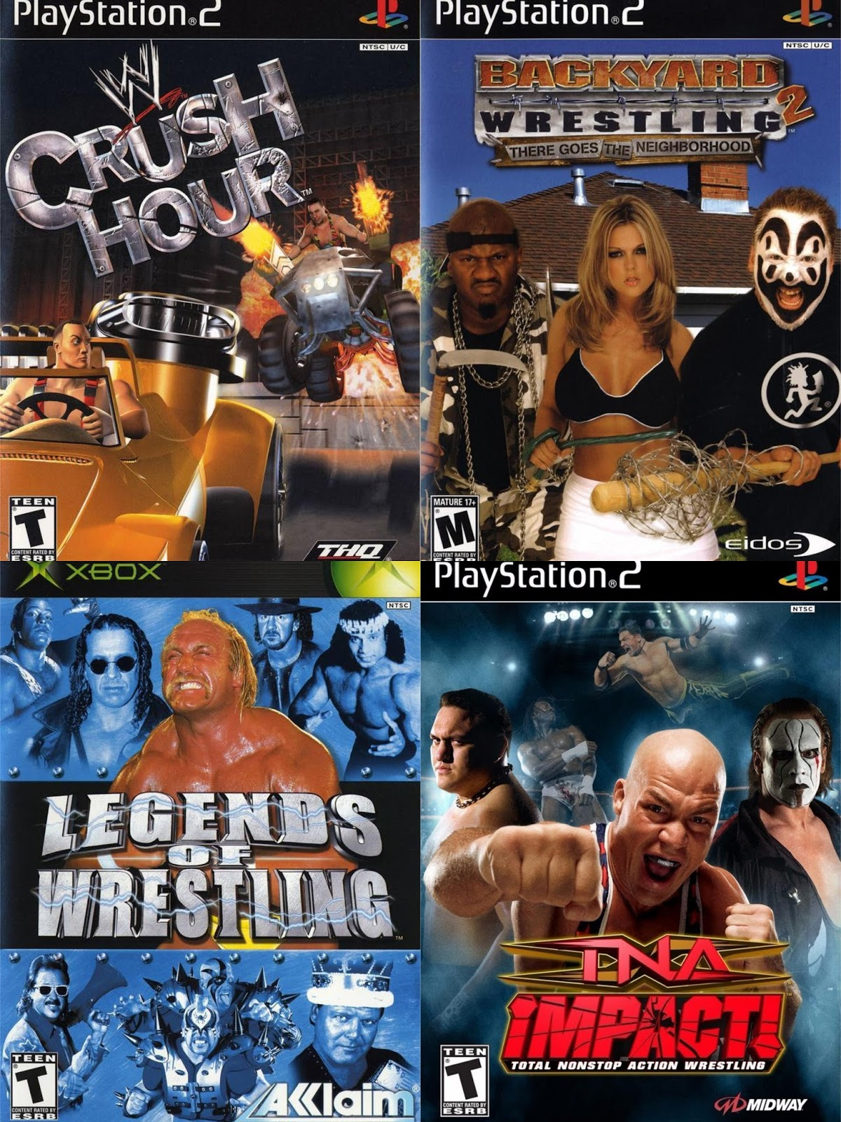 Backyard Wrestling 2 There Goes The Neighborhood Video Game 2004 - Backyard Wrestling Icp Backyard Wrestling 2 First Impressions