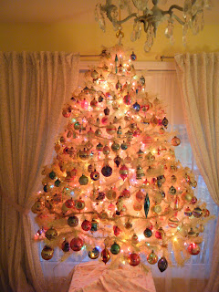 Vintage Christmas Tree Bubble Lights