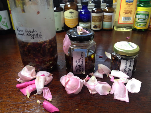 How to make Rose Infused Oil at Home