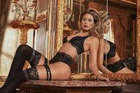 Doutzen Kroes in sexy lingerie model photoshoot