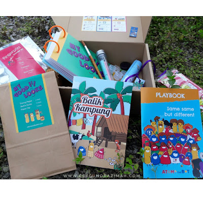 atom and the dot, surprise box for kids, surprise box, hadiah buat si kecil, atom & the dot, Surprise Box dari Atom & The Dot