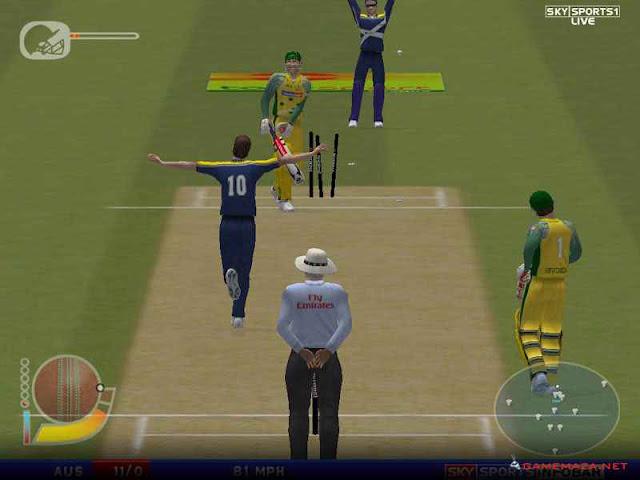 EA Sport Cricket 2004 PC Game Download