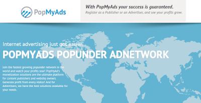 PopMyAds - Publicidad Popunder
