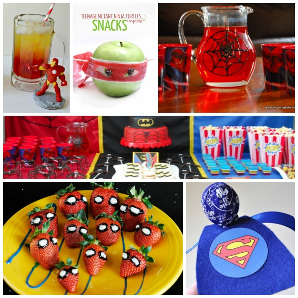 Superhero Ideas for Kids Messy Little Monster