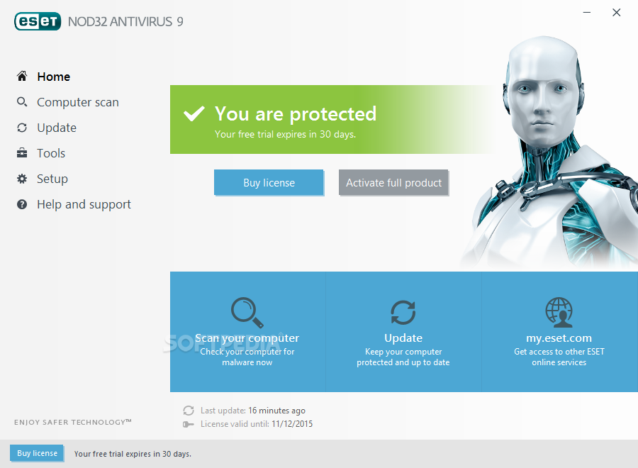 Eset Nod32 Antivirus License Key 2019 Free Download - Best ...