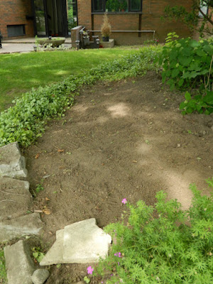 St. Andrews York Mills Toronto front garden renovation before by Paul Jung Gardening Services