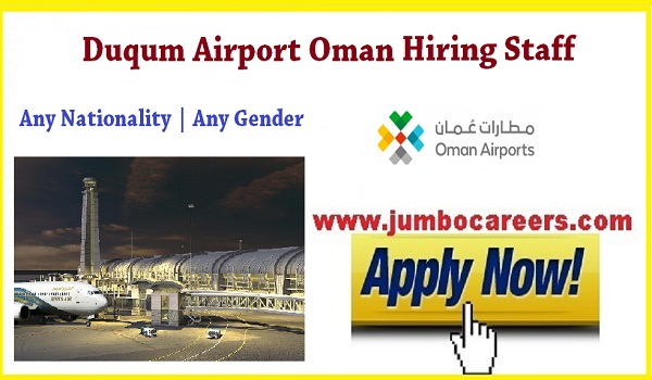Oman Airport jobs for Indians, Available all jobs vacancies in Oman,
