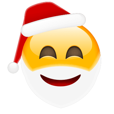 Merry Santa Emoji