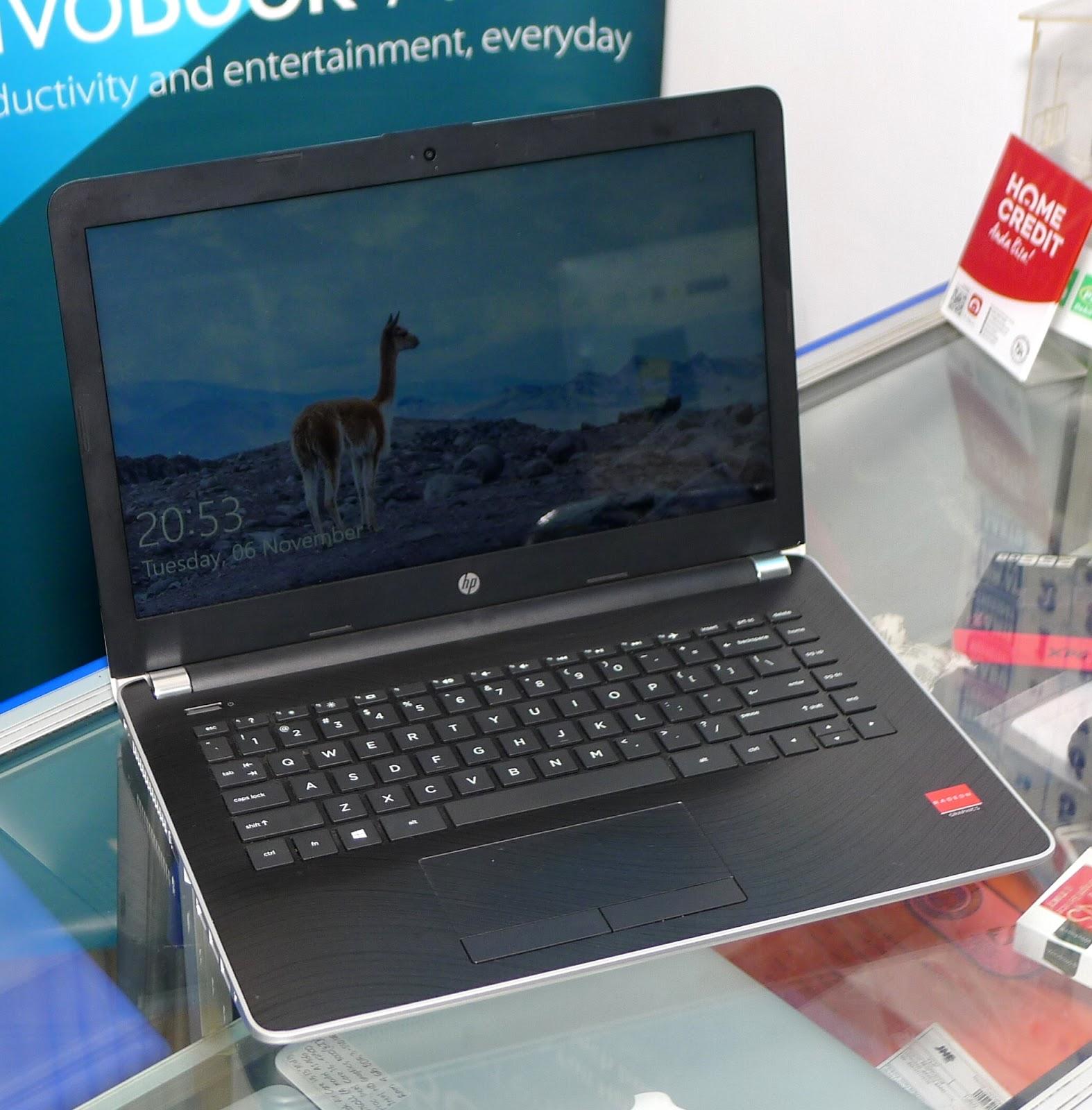 Jual Laptop Hp 14 Bw023ax Amd A9 Second Fullset Jual Beli Laptop Bekas Kamera Service Sparepart Di Malang