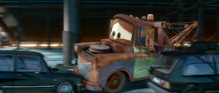 cars 2 mater with duct tape