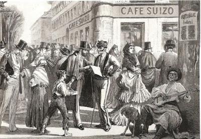 Olgiati, su padre y el Café Suizo de Madrid, un guiño al destino