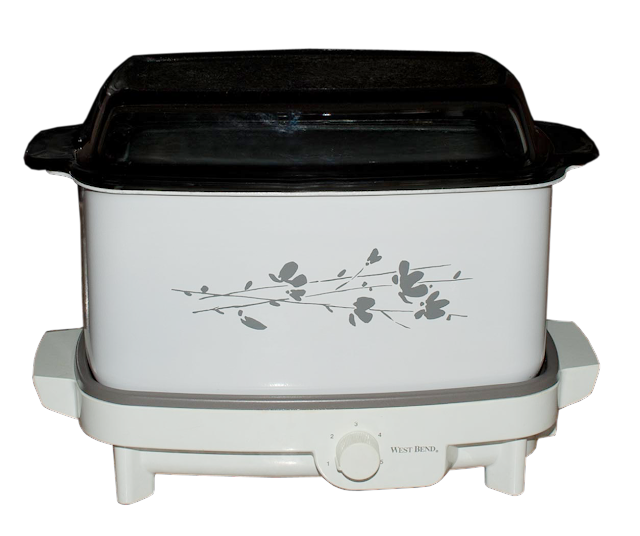 A multi-purpose vintage slow-cooker.