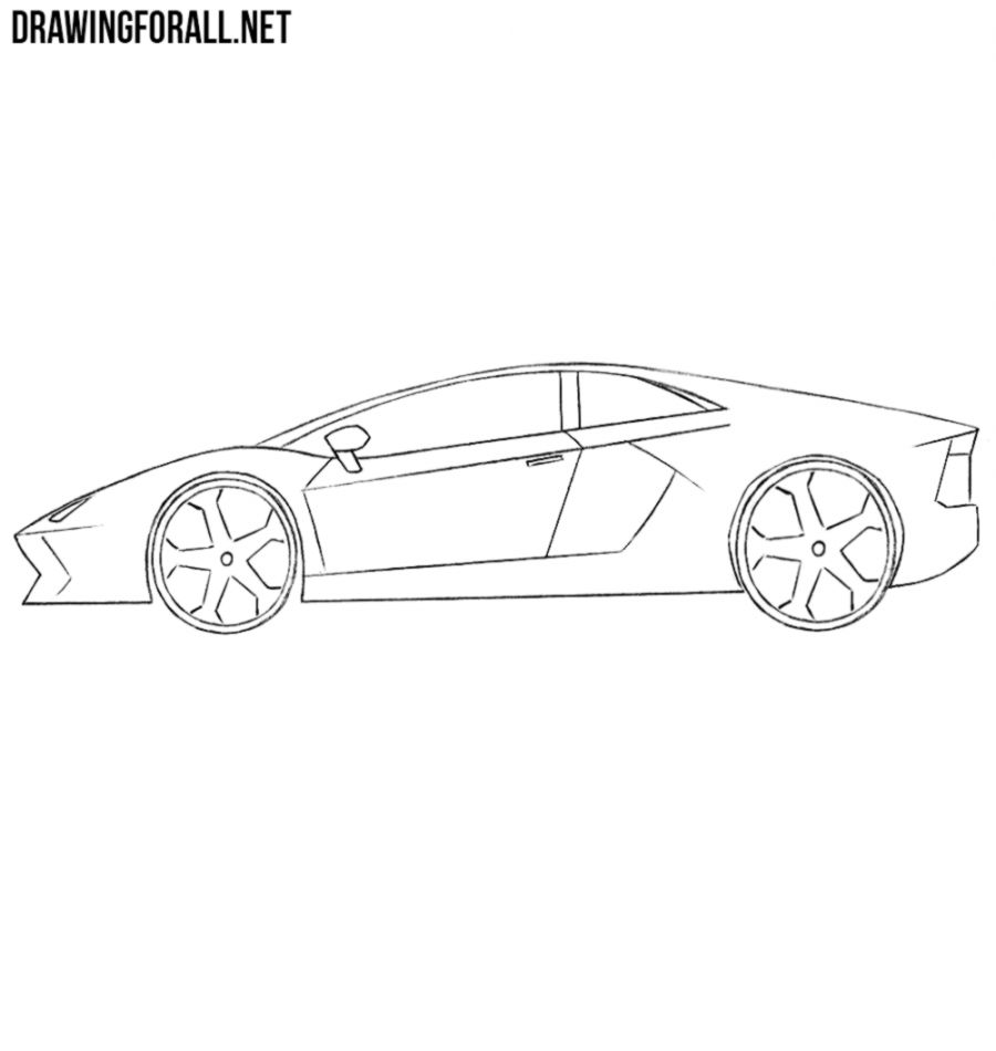 Cool Cars Drawings Drawing Tutorial Easy