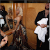 Nicki Minaj is obviously unbothered after her rap rival Cardi B tried to attack at the Harper's Bazaar's New York Fashion Week party last night.