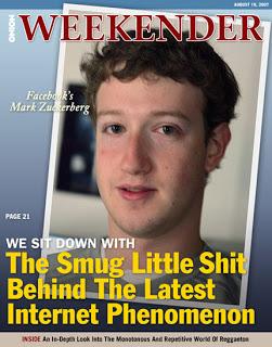 mark zuckerberg tampil di majalah