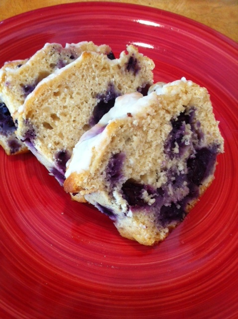 The Hungry Bookworm Lovely Lemon Blueberry Breakfast Bread