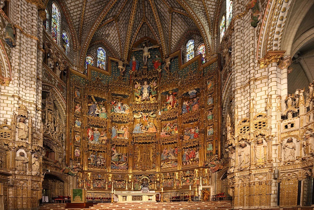 A Catedral de Toledo - Espanha