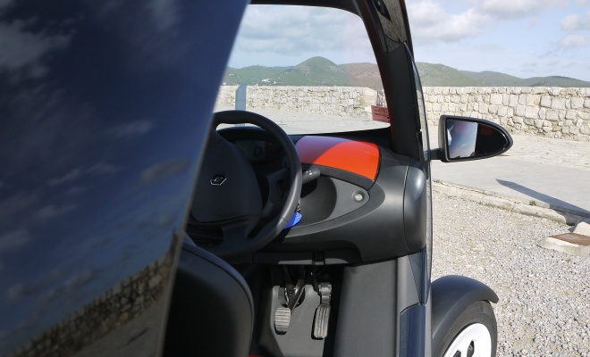 Twizy 45 dashboard