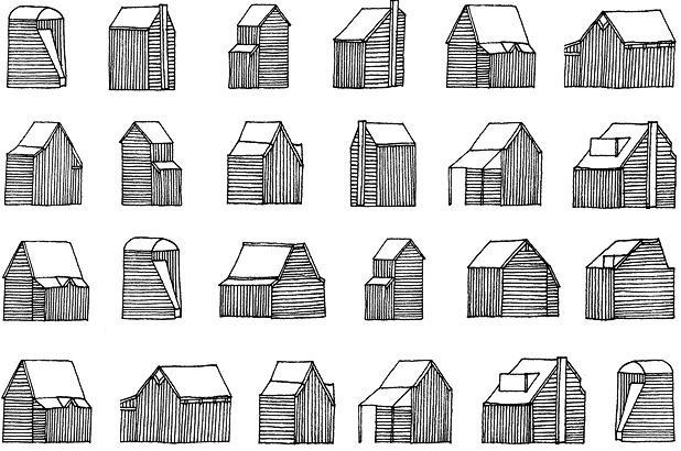 margaret-cooter: A typology of little houses