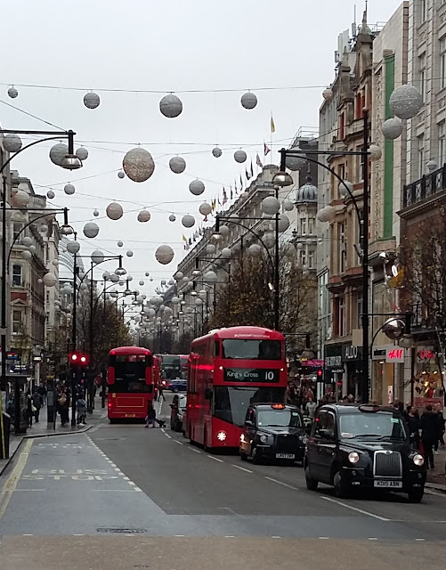 Oxford Street - London - Christmas 2015