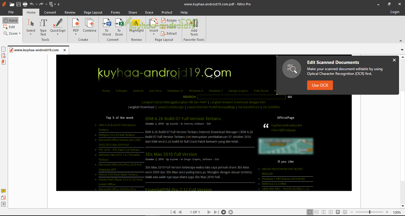 nitro pdf professional windows 7 64 bit