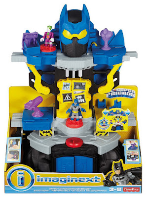 TOYS : JUGUETES - Fisher-Price : IMAGINEXT Batcueva Tranformable de Batman DC Super Friends 2016 | Mattel DRM46 | A partir de 3 años Comprar en Amazon España