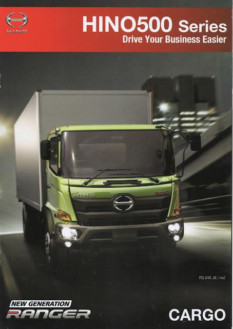 spesifikasi truk hino ranger fm 260 jw